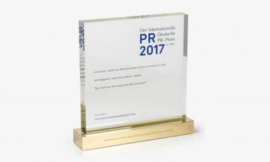 DRP gewinnt den Internationalen Deutschen PR Preis 2017